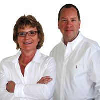 Denise Knudsen and Robb Kapps portrait